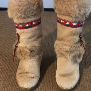 Technica Skandia Goat Fur Boots